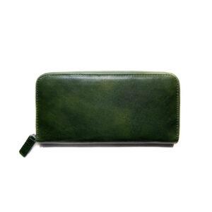 Portafogli in Pelle Verde